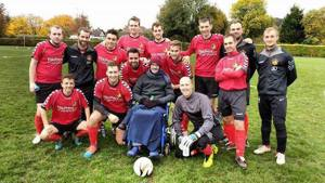 The fundraising footballers