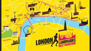 London Landmarks Half Marathon: May 2021