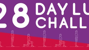 28 Day Lunge Challenge